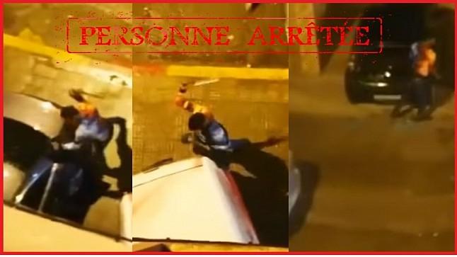الأمن يوقف صاحب فيديو تكسير زجاج سيارات بالمحمدية