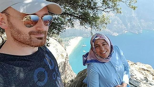جريمة قتل مروعة سببها الطمع.. يدفع زوجته الحامل من ارتفاع 1000 متر