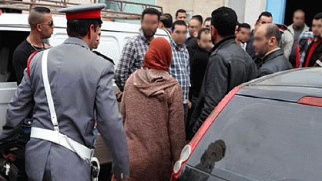 برشيد: خنقت زوجها بحزام بعدما كشف خيانتها