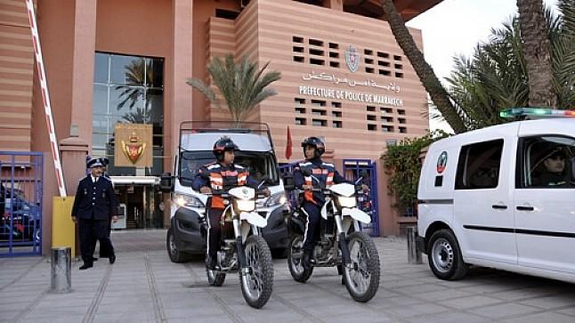 سرقة دراجة ضابط شرطة تستنفر ولاية أمن مراكش