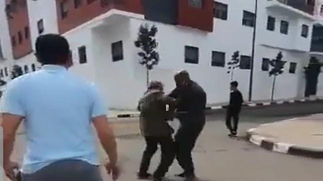 فيديو| طعنة سكين ترسل قائدا إلى المستعجلات بالدار البيضاء