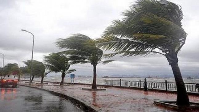 طقس اليوم الإثنين: رياح قوية ونزول أمطار ببعض مناطق المملكة