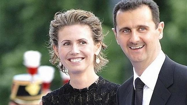 كورونا يصيب بشار الأسد وزوجته