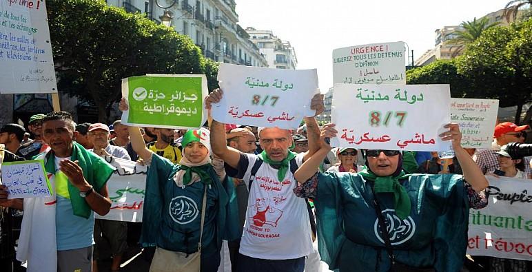 الجزائر.. مظاهرات رافضة للانتخابات بالجمعة 40 للحراك