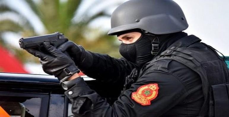 الدار البيضاء: إطلاق رصاص لتوقيف مجرم قاوم عناصر الشرطة وعرضهم