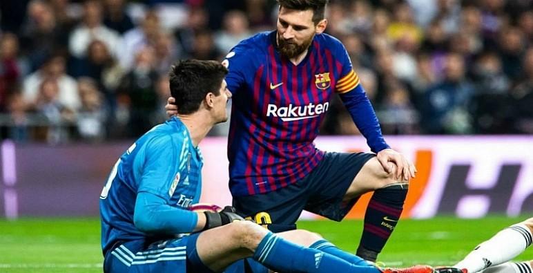 """حارس ريال مدريد: """"أفضِل استمرار ميسي في برشلونة لأنه الأفضل"""""""