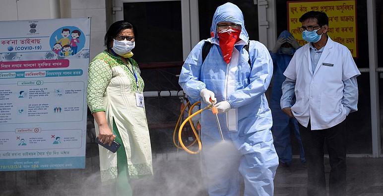 الهند تسجل 100 ألف إصابة بكورونا في يوم واحد